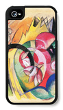 Colored Flowers iPhone 4/4S Case by Franz Marc