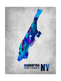 Manhattan New York Posters by  NaxArt