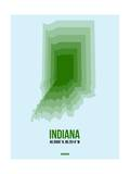 Indiana Radiant Map 2 Poster by  NaxArt
