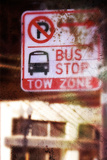 Bus Stop Sign Photographic Print by Ricardo Demurez