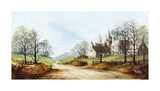 Spring Hamlet Premium Giclee Print by Ron Folland
