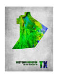Midtown Houston Texas Prints by  NaxArt