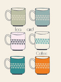 Tea and Coffee IV Giclee Print by Laure Girardin-Vissian