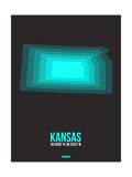 Kansas Radiant Map 5 Posters by  NaxArt