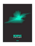 Memphis Radiant Map 2 Posters by  NaxArt