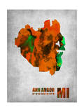 Ann Arbor Michigan Posters by  NaxArt