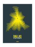 Dallas Radiant Map 1 Prints by  NaxArt
