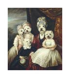 Les Enfants de la Comtesse II Premium Giclee Print by Thierry Poncelet
