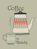 Tea and Coffee I Giclee Print by Laure Girardin-Vissian