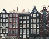 Aerial Amsterdam I Giclee Print by Irene Suchocki
