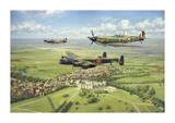 Per Ardua ad Astra Premium Giclee Print by John Young