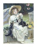 Playful Kittens Premium Giclee Print by Arthur Elsley