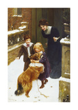Good Friends Premium Giclee Print by Arthur Elsley