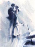 Proustian Blue Giclee Print by Sharon Pinsker