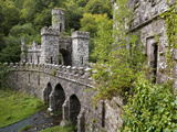 The Inner Gates And Bridge, Ballysaggartmore Towers, Lismore, County Waterford, Ireland Photographic Print by Green Light Collection