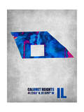 Calumet Heights Illinois Posters by  NaxArt