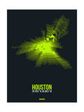 Houston Radiant Map 3 Posters by  NaxArt