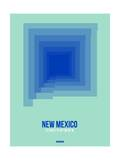 New Mexico Radiant Map 1 Posters by  NaxArt