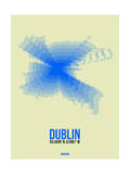 Dublin Radiant Map 1 Posters by  NaxArt