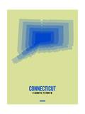 Connecticut Radiant Map 1 Posters by  NaxArt