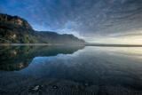 Calm Pororari Lagoon Giclee Print by Nathan Secker