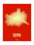 Vienna Radiant Map 1 Poster by  NaxArt
