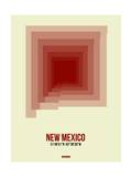 New Mexico Radiant Map 2 Prints by  NaxArt