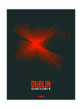 Dublin Radiant Map 3 Posters by  NaxArt
