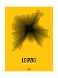 Leipzig Radiant Map 1 Print by  NaxArt