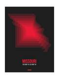 Missouri Radiant Map 6 Posters by  NaxArt