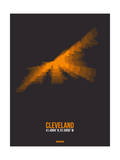 Cleveland Radiant Map 3 Prints by  NaxArt