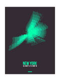 New York Radiant Map 2 Posters by  NaxArt