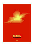 Memphis Radiant Map 4 Posters by  NaxArt