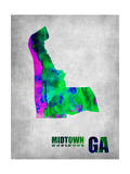Midtown Georgia Posters by  NaxArt