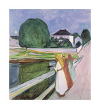 The White Night, 1903 Premium Giclee Print by Edvard Munch