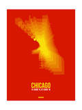 Chicago Radiant Map 3 Prints by  NaxArt