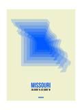 Missouri Radiant Map 1 Poster by  NaxArt
