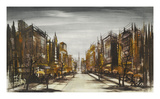 Boulevard Premium Giclee Print by Ron Folland