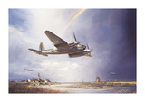 Low-flying Mosquito Premium Giclee Print by John Young