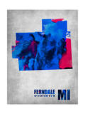 Ferndale Michigan Prints by  NaxArt