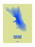 Chicago Radiant Map 1 Prints by  NaxArt