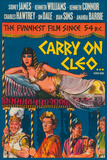 Carry on Cleo Giclee Print by  The Vintage Collection