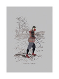 Carrying For A Long Walk Premium Giclee Print by Fergus Dowling