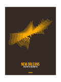 New Orleans Radiant Map 3 Prints by  NaxArt
