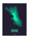 Chicago Radiant Map 2 Poster by  NaxArt