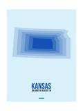 Kansas Radiant Map 3 Posters by  NaxArt