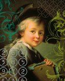 Portrait of The Artist as a Young Man - Detail Giclee Print by Francois Hubert Douais