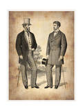 Vintage Victorian Man 1 Prints by  NaxArt
