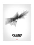 New Orleans Radiant Map 4 Posters by  NaxArt