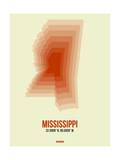Mississippi Radiant Map 1 Posters by  NaxArt